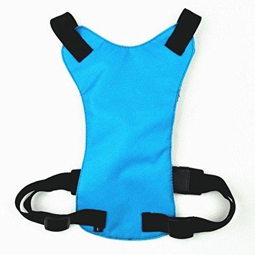 nikka(日華)ドライブ セーフティー ハーネス 犬用ハーネス ブルー Lサイズ ペット用シートベルト