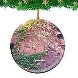 Weekino Louisville Slugger Museum & Factory Kentucky USA Christmas Ornament Travel Souvenir Personalized Christmas Tree Pendant Hanging Decoration