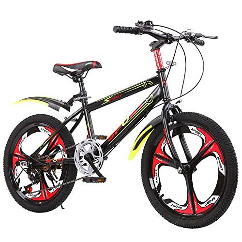 DREAMyun Bicicletta per Bambini Ragazza Ragazzo 6-17 Anni Freestyle BMX 18 20 22 24 Pollici Bicicletta Bambini Mountain Bike