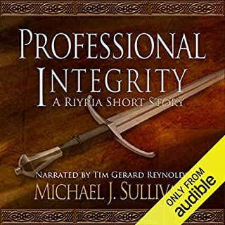 FREE: Professional Integrity (A Riyria Chronicles Tale) audiobook cover art