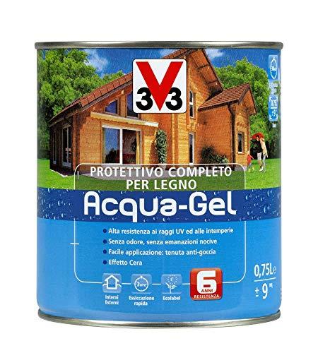 Protettivo Completo Aqua-Gel per Legno Incolore 750 ml