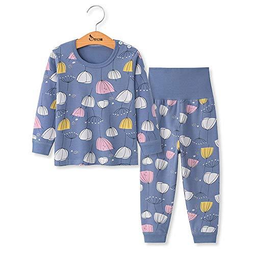 Chickwing Kinder Zweiteiliger Schlafanzug, Mädchen Jungen Unisex Langarm Hohe Taille Pyjama Pjs 100{43e0ffe25c1bbe9d38ae8f0d79a0e3cdbb073781cf958a58ea685dbf9be098a9} Baumwolle 6 Monate-5 Jahre Höhe Größe 73 80 90 100 110 (5 Jahre Alt, Löwenzahn)