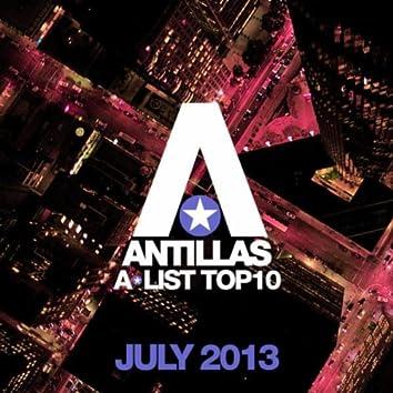Antillas A-List Top 10 - July 2013 (Bonus Track Version)