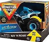 Monster Jam Rev & Roar Trucks 1:43 Roar Megalodon vehculo de Juguete - Vehculos de Juguete (Azul, Camin, Interior, 3 ao(s), Nio, 1:43)