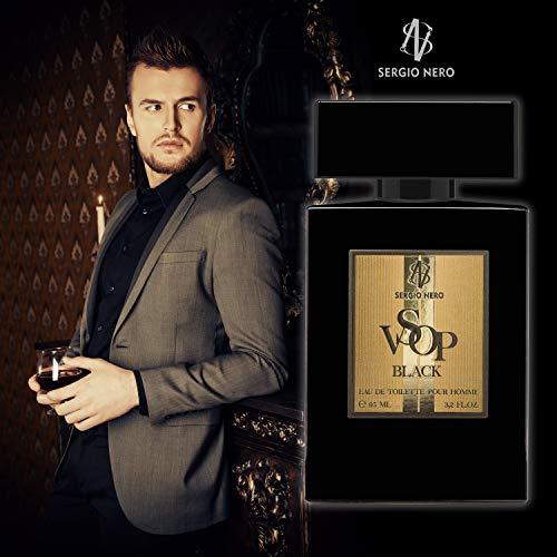 VSOP BLACK Eau de Toilette per uomo, 95 ml – NUOVO profumo per lui - La migliore idea Regalo per lui