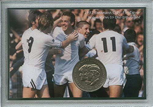 Swansea City (The Swans Vetch Field) Vintage First Ever Promotion to the Top Flight Retro Coin Present Display Gift Set 1981