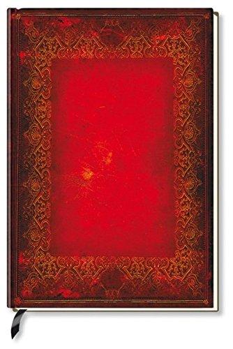 Notizbuch - liniert - Red Book