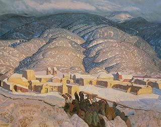 SANGRE DE CRISTO MOUNTAINS BY ERNEST L BLUMENSCHEIN 11
