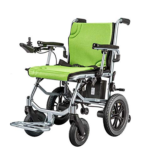 Lightweight Electric Wheelchair, Open/Fold in 1 Second Lightest Most Compact Power Chair Drive with...