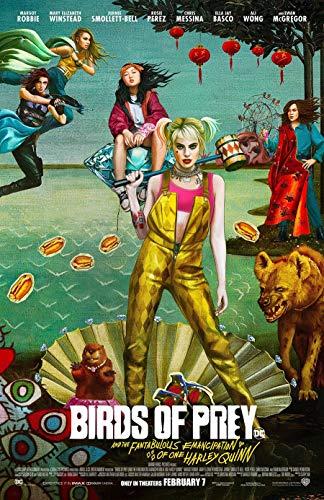 518b8tIp3HL Harley Quinn Birds of Prey Posters
