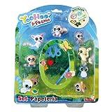 Yoohoo & Friend - Set de papelera y 8 muecos, Multicolor (Simba 5950595)