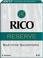 Rico レゼルヴ リード バリトンサックス用 硬さ:2 1/25枚入り (リコ LRICREBS2.5)