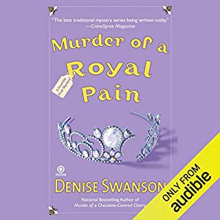 Murder of a Royal Pain audiobook cover art