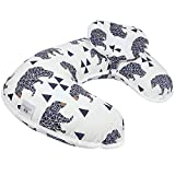 Baby Breastfeeding Nursing Pillow and Positioner,Machine Washable, Nursing and Infant Support Pillow...