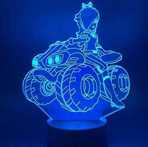 Kleines Nachtlicht Phantom Führte Kleines Nachtlicht Schönes Mädchen Reiten Quad Fahrrad Büro Home Study Dekoration Lampe Schlafzimmer Tisch