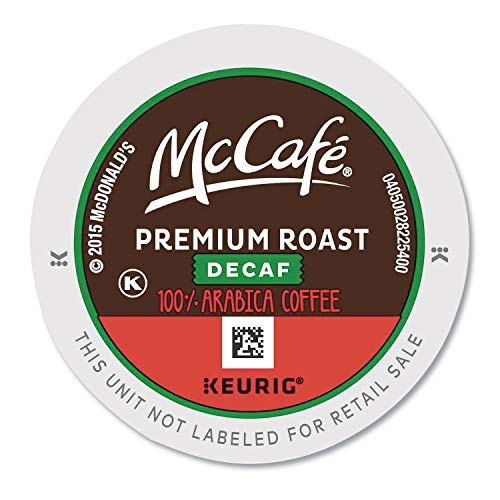 McCafe 7467 Premium Roast Decaf K-Cup, 24/BX