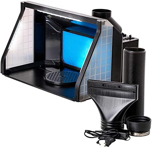 Master Airbrush Extra Large Dual Fan Lighted Portable Hobby Airbrush Spray Booth with LED Lighting product image