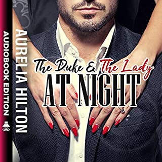 The Duke and the Lady at Night  audiobook cover art