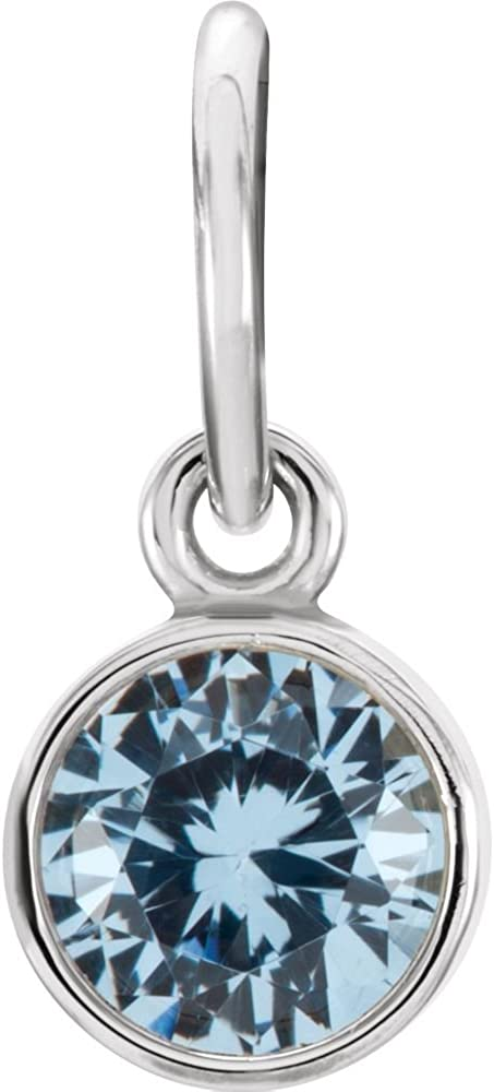 Jewels By Lux 925 Sterling Birthston Max 74% OFF Imitation Aquamarine Silver shop