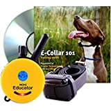 Educator ET-300-TV Bundle: Mini 1/2 Mile E-Collar Remote Dog Training Collar Plus 101 Off-Leash 4 Sessions Dog Training DVD, Yellow
