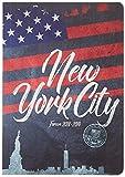 Exacompta 1842901e Forum Country Flag agenda (Broché agosto 2018de Julio de 201912x 17cm Visual nueva york