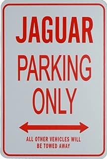 JAGUAR PARKING ONLY- Miniature Fun Parking Sign