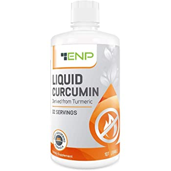 Liquid Turmeric Curcumin Supplement   32 oz.   1000 mg Highly Bioavailable Vitamin Increases Absorption   Joint Pain Relief   Anti-Inflammatory, Antioxidant   Non-GMO, USA Made