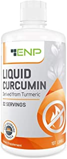 Liquid Turmeric Curcumin Supplement | 32 oz. | 1000 mg Highly Bioavailable Vitamin Increases Absorption | Joint Pain Relie...