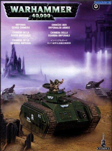 Games Workshop-Gioco da Tavolo e Miniatura Astra Militarum Chimera, 99120105046