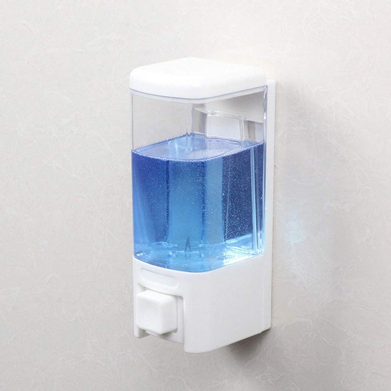 請求書フルーティーマージンせっけん 浴室ソープディスペンサーホテル壁掛け風呂シングルヘッドソープマシンシャワージェルボックス漏れ防止手消毒剤ボトル 新しい