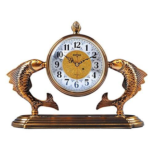 SESO UK- Européenne Retro Mute Horloge De Bureau Salon Chambre Horloge Horloge Horloge Horloge Créative