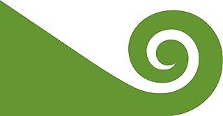 magFlags Large Flag NZ Flag Design Modern Hundertwasser by Tomas Cottle   Modern Hundertwasser The Koru   Landscape Flag  ...