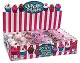 Raymond Geddes Cupcake Shoppe Scented Eraser and Sharpener, 24 Pack (69191)
