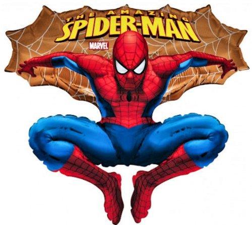 Folienballon Spiderman ca. 60cm Shape