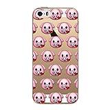 Coque iphone 6 Plus / 6S plus 5.5'' Protecteur Gel Silicone protection -Smiley cochon love coeur