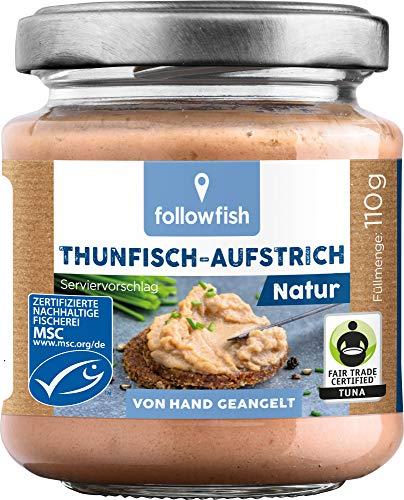 followfish MSC Thunfisch-Aufstrich Natur, 110 g