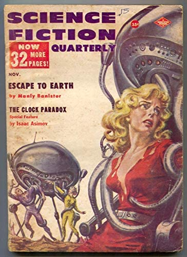 Science Fiction Quarterly Pulp November 1957- headlight Be super welcome 5 ☆ very popular cover