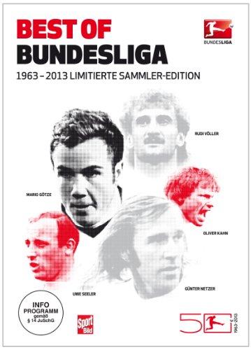 50 Jahre Bundesliga - Best of Bundesliga 1963-2013: Offizielle Limitierte Sammler-Edition (Limited Edition) (7 DVDs)