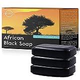 3 Barras de Jabón Hidratante Africano O Naturals. 100% Natural. Cara, Manos y Cuerpo. Ayuda a...