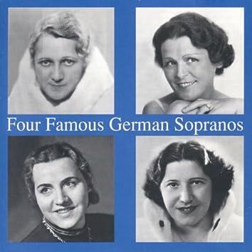 Four Famous German Sopranos