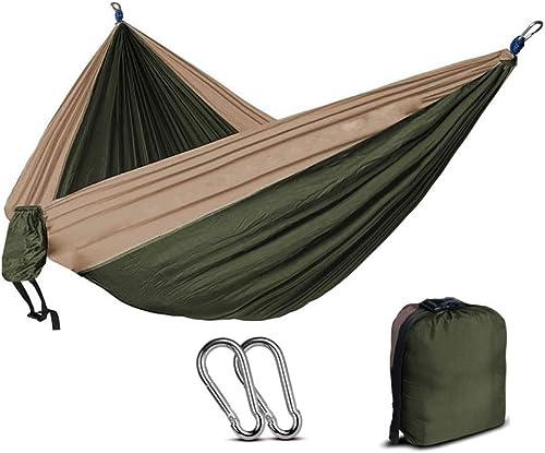 ZWDM 210T Nylon Parachute hamac léger Camping en Plein air portable hamac Unique portable avec hamac Corde