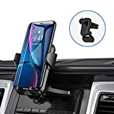 Car Phone Holder Mount, Anwas Universal CD Phone Holder for Car 2020 Newest CD Slot & Air Vent Fit for iPhone SE 11 Pro Max Xs Xr X 9 8 7 Plus, Galaxy Note 10 S20 S20+ S10+ S10 S9 Google LG Etc.