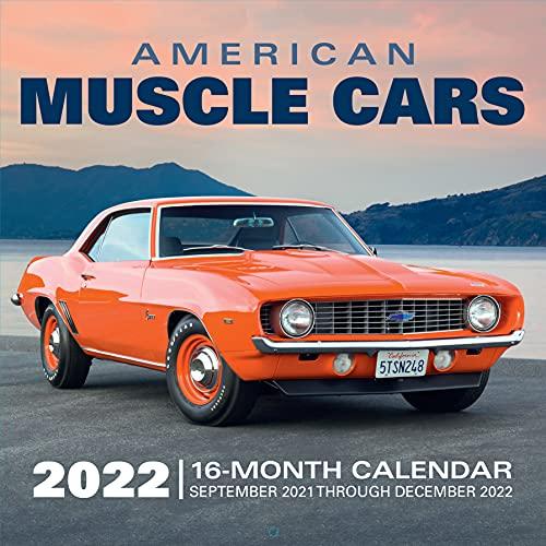 American Muscle Cars 2022: 16-Month Calendar - September 2021 through December 2022