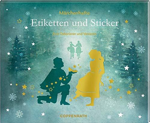 Stickerbuch - Etiketten und Sticker - Aschenbrödel: Zum Dekorieren und Verzieren