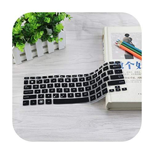 TOIT - Funda de teclado para ordenador portátil de 11 pulgadas para Asus Vivobook E203M E203 E203Na Eeebook X200Ca X200Ma E203Ma E200Ha S200E de 11 pulgadas, color negro