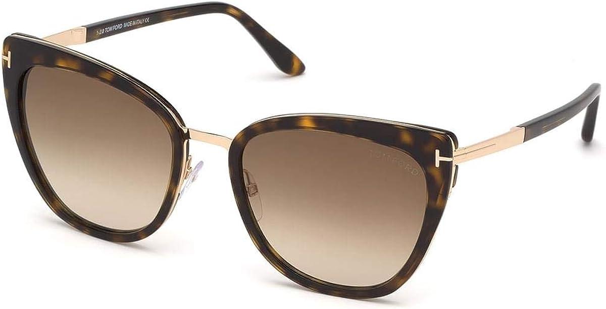 Tom Ford FT0717 Havana/Brown Lens Sunglasses