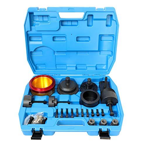 DPTOOL Crankshaft Seal Removal Kit,Crankshaft Front and Rear Oil Seal Remover and Installer Kit Compatible with BMW N40 N42 N45 N45T N46 N46T N52 N53 N54 N55 Engine