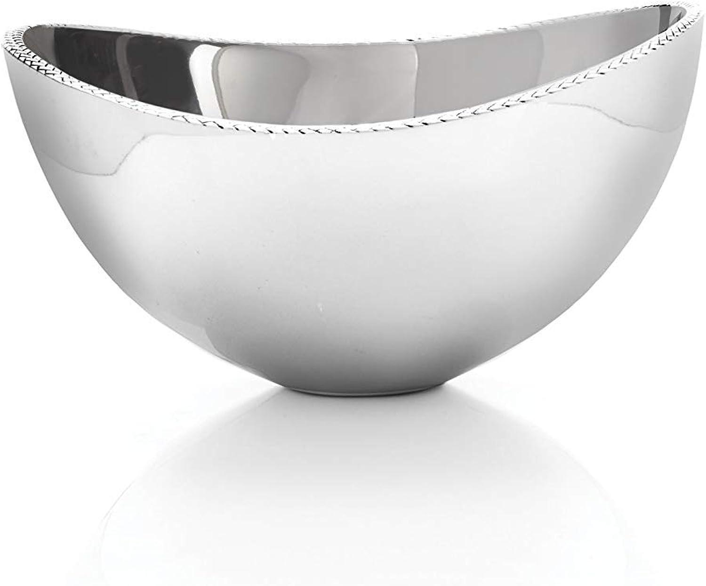 Nambe Braid Serving Bowl, Medium