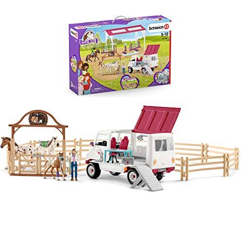 SCHLEICH 72140 Horse Club - Fitness Check per il grande torneo - Figurina giocattolo migliore per bambini dai 5 ai 12 anni