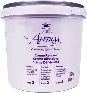 Avlon Affirm Creme Relaxer Original Formula (4LB) Normal